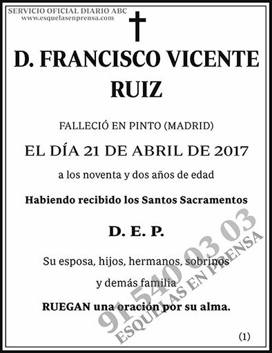 Francisco Vicente Ruiz